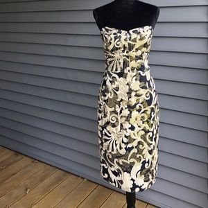 MILLY OF NEW YORK STRAPLESS DRESS